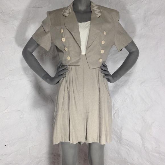 vintage dresses 70s romper suit with jacket poshmark